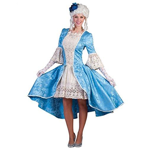 Rokoko Madame Louise Gr. 44 46 - Schönes Damen Barock Rococo Kleid für Karneval und Theater