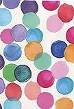 Klebefolie Punkte bunt - Julia bunte Punkte - selbstklebende Folie 45 x 200 cm - Möbelfolie Dots - Selbstklebefolie mit modernem bunten Dekor - Dekorfolie Bastelfolie mit Muster