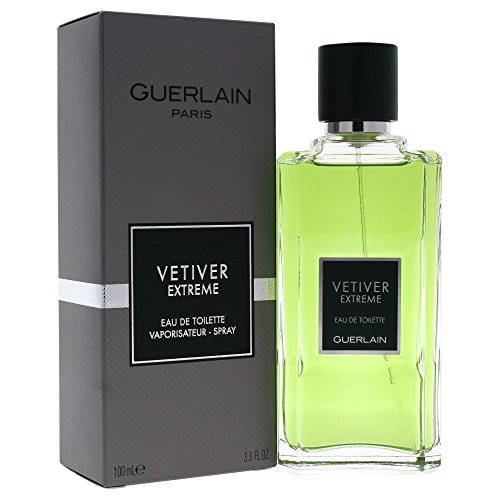 Guerlain Vetiver Extreme Eau De Toilette Spray for Men, 100ml