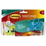 Command Clear Large Caddy with Clear Strips (HOM-15)