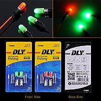 Electronic flotadores de pesca a la deriva cola LED electrónico luz enviar cr311 recargable noche pesca