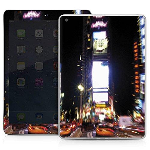 DeinDesign Apple IPad Air Case Skin Sticker aus Vinyl-Folie Aufkleber Times Square Broadway New York City