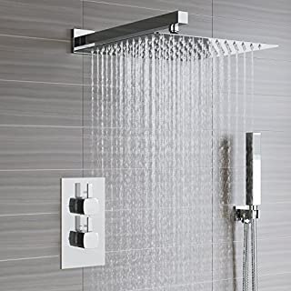 iBathUK Thermostatic Mixer Shower Set 12
