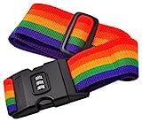 #7: Okayji Multicolour Luggage Lock