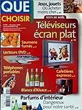 Telecharger Livres QUE CHOISIR No 421 du 01 12 2004 JEUX JOUETS OU ACHETER MOINS CHER TELEVISEURS ECRAN PLAT SAUMONS FUMES LECTEURS DVD CAFETIERES EXPRESSO TELEPHONES PORTABLES BLANCS D ALSACE PARFUMS D INTERIEUR DANGER (PDF,EPUB,MOBI) gratuits en Francaise