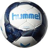 Hummel Futsal Football, White/Vintage Indigo/Turquoise, 4