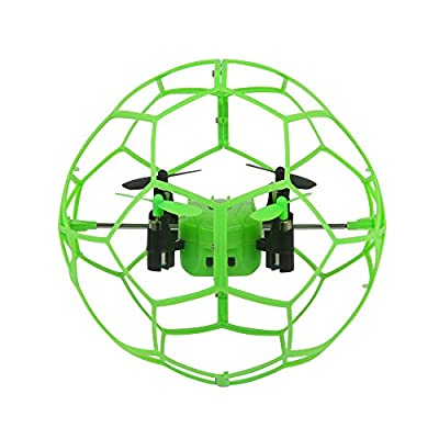 Dazhong 2.4GZ 4CH 6-Axis gyroscope Ball Shape Design RC Quadcopter Drone with Headless Mode and A Key Return