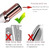 Holsh Impex Painless Portable lipstick Shaped Women Hair Remover Electric Razor Machine for Women