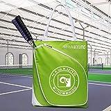 Politice Tennisschläger-Handtasche, Tragbare wasserdichte Badminton-Tasche, Offene Große Innentasche, Vordertasche Für Badminton- / Tennisschläger, Praktisch, Neu