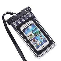 BU-Bauty Waterproof Case ,Touch Responsive Universal Durable Underwater Dry Bag Water ,Dust ,Dirt,Snow proof Dry Bag, 4.7 inches,5.5 inches,4-6 inches Universal, IPhone 7/7PLUS,6/6PLUS, 5, 5s, 5c, 4, Samsung Galaxy S3, S4, LG G3, G2, HTC M8, M7, Gps .(bla