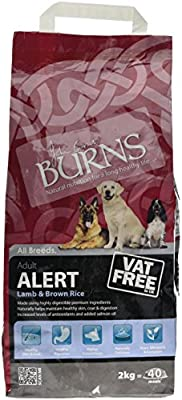Burns alert adult dog food lamb and brown rice all sizes from Burns Pet Nutrition Limited