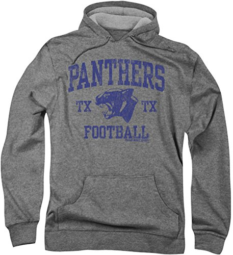 Friday Night Lights da uomo con cappuccio, motivo: pantera Athletic Heather XXX-Large