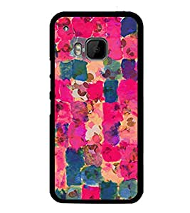 Colourful Pattern 2D Hard Polycarbonate Designer Back Case Cover for HTC One M9 :: HTC One M9S :: HTC M9 :: HTC One Hima
