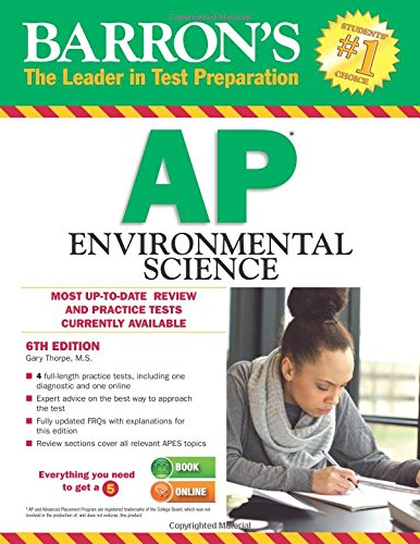 Ap Environmental Science (Barron's Ap Environmental Science)
