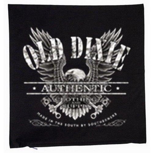 Kissen mit Innenkissen - Old Dixie - Adler Eagle - mit 40x40cm - in schwarz : ) (Dixie Adler)