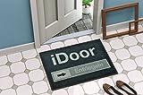 iDOOR Style Fußmatte für den Innenbereich & Außenbereich | Rutschfester und waschbarer Fuß-Abtreter | Fussmatte Lustig / Lustige Geschenke | Fußabstreifer und Schmutzfang-Matte | 50 x 70 cm