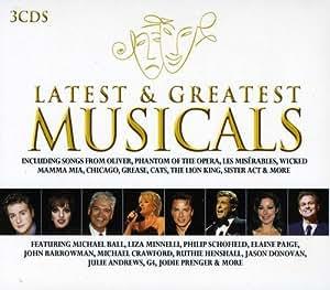 Latest & Greatest Musicals (3CD)