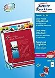 AVERY Zweckform 2598-200 Superior Colour Laser Papier (A4, beidseitig beschichtet, glänzend, 150 g/m², 200 Blatt)