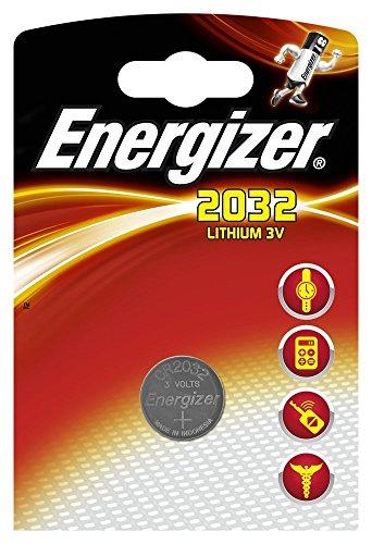 Energizer-Piles ENCR2032 (Button/coin CR2032,) Argent