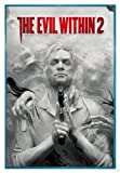 Close Up The Evil Within 2 Poster Key Art (94x63,5 cm) gerahmt in: Rahmen türkis