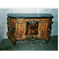 Comparador de precios LouisXV aparador de estilo antiguo barroco rococó barroco bufé MoAl0038 - precios baratos