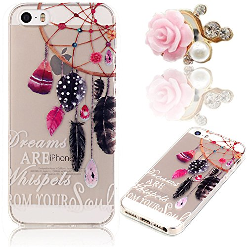 sunroyal iphone 5 5g 5s se 5se h lle case transparent. Black Bedroom Furniture Sets. Home Design Ideas