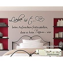 Suchergebnis Auf Amazonde Für Wandtattoos Sprüche Schlafzimmer