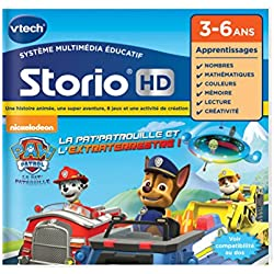 Vtech - 274105 - Jeu Pour Tablette - Hd Storio - Pat Patrouille