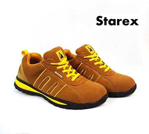 mens-sicurezza-stivali-lacci-lavoro-punta-in-acciaio-da-caviglia-yellow-camel-suede-7