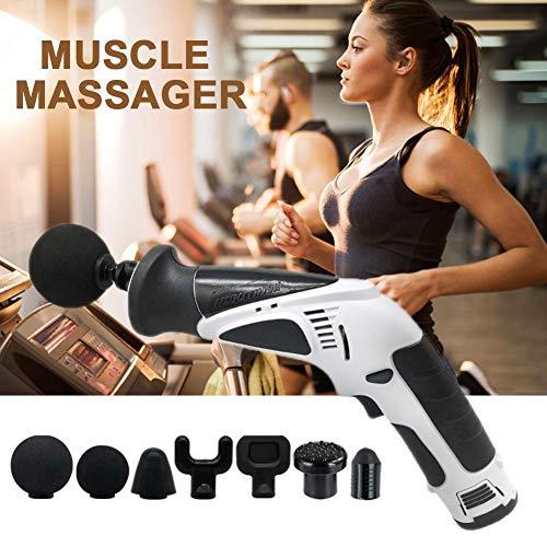 JuΜ Entspannung der Tiefentherapie Body / Muskel Gun ENTSPANNEN Fascia Maschine Frauen Männer Fitness Sports MuskelMassager