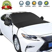 GikPal Parabrisas del Coche Cubierta de Nieve, SUV Parabrisas Protector de Pantalla Solar Rayos UV