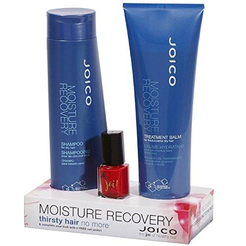 Joico Moisture Recovery Duo-Set & Gratis-Nagellack Pflege-Set für trockenes Haar