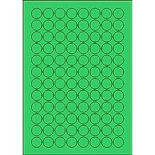 5000 Klebepunkte transparent ablösbar 451020 Verschlussetiketten Ø 20mm