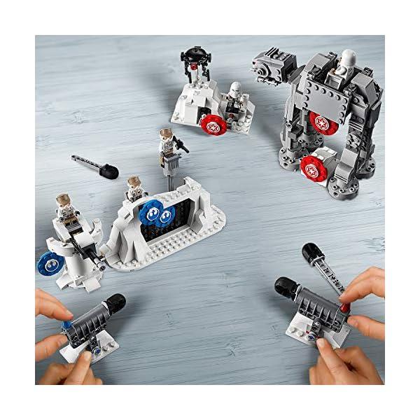 LEGO Star Wars Action Battle Difesa della Echo Base con 2 Snowtrooper e 3 Rebel Trooper, Set di Costruzioni per Ragazzi… 2 spesavip