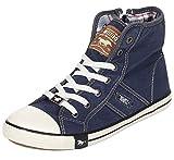 Mustang Shoes Damen Schuhe Sneaker jeansblau 41