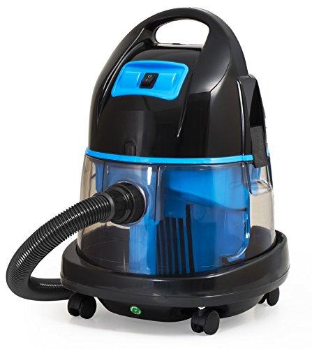 Aspirador con filtro de agua 2.400Watt - Aspiradoras en húmedo y en seco (Azul)