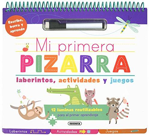 Mi primera pizarra de laberintos, actividades y juegos (Mi primera pizarra para escribir) por Susaeta Ediciones S A