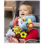 Wadila Car Seat Toy Baby Pram Stroller Toys Spiral Activity Hanging Cot Toys for Baby Boys Girls 6