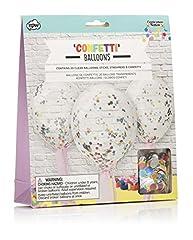 Idea Regalo - NPW Confetti Balloon Palloncini di Coriandoli, Multicolore, NP31874