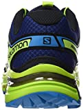 Salomon Wings Flyte 2, Chaussures de Trail Homme - Bleu (Blue Depths/Lime Green/Hawaiian Sur), 42 EU (8 UK)