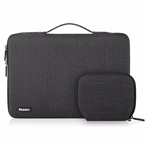 EasyAcc 13,3 Zoll Laptops Tasche Schutzhülle Laptop Sleeve Tragetasche mit Zubehörtasche für 13,3
