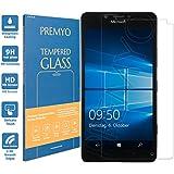 PREMYO cristal templado Lumia 950. Protector cristal templado Lumia 950 con una dureza de 9H, bordes redondeados a 2,5D. Protector pantalla Lumia 950