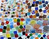 Bazare Masud Lot de 500 tesselles en verre Mosaïque multicolore 15 x 15 mm env. 760...
