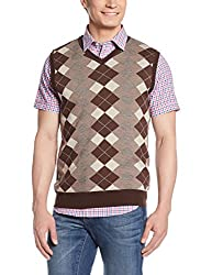 Blackberrys Mens Cotton Sweater (8903016538074_SEAGER_40_Brown)