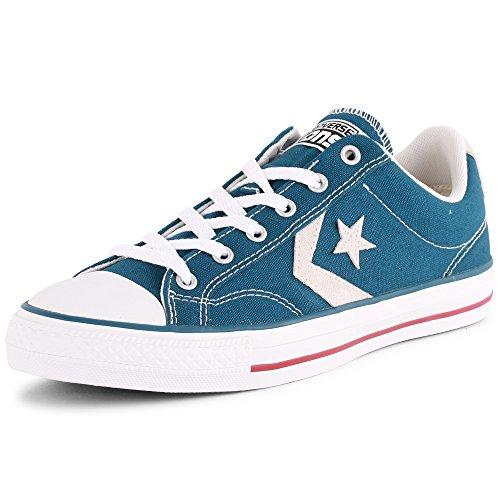 Converse - Star Player Adulte Core Canvas Ox, Sneaker Unisex – Adulto (Blue White)
