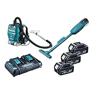 makita aspirateur sur batterie set ii avec chargeur dlx2213pt bricolage. Black Bedroom Furniture Sets. Home Design Ideas