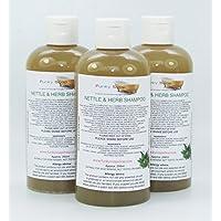 1 bottiglia Liquido Ortica & Erba Shampoo 100% Naturale senza