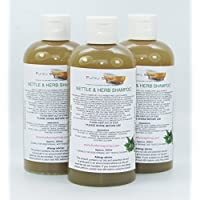 1 bottiglia Liquido Ortica & Erba Shampoo 100% Naturale senza SLS 250ml