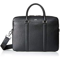 BOSS Signature_s Doc, Sacs pour ordinateur portable homme, Noir (Schwarz), 6.5x28x38.5 cm (B x H T)