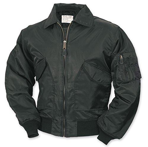 surplus-ma2-cwu-volo-giacca-da-uomo-bomber-us-airforce-pilota-motociclista-sicurezza-wear-black-m